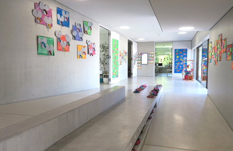 Kindergarten - Kindergarten and crèche © Transfer