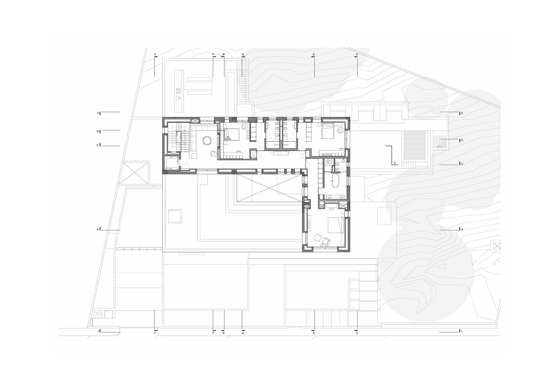 H.S. House - H.S. House : second floor © Sahel Al Hiyari