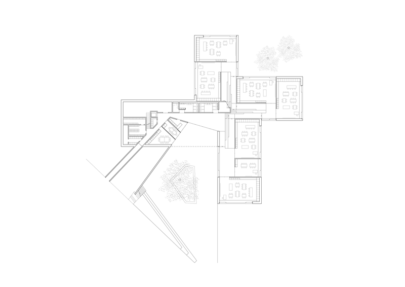 Kindergarten - Ground floor plan © PIERRE-ALAIN DUPRAZ
