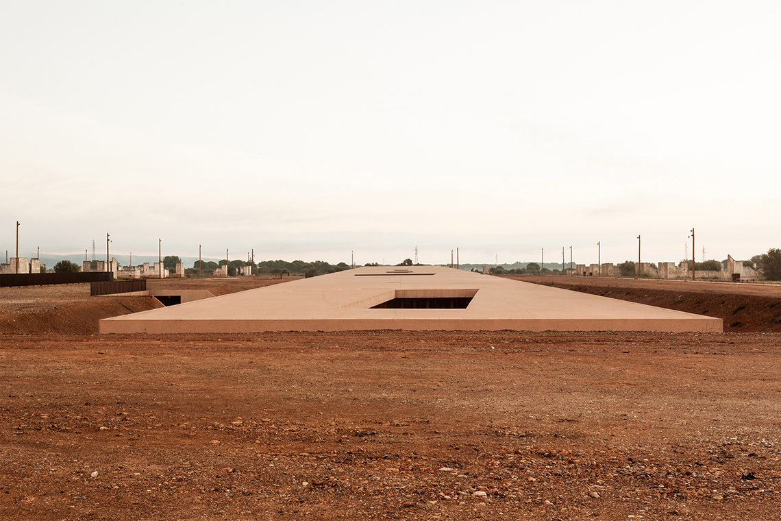 Rivesaltes <br> Camp Memorial - ©Kevin Dolmaire