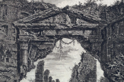 Some Considerations on the Aesthetics of Ruins